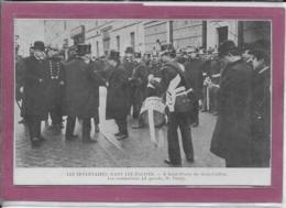 75.- PARIS- LES INVENTAIRES DANS LES EGLISES .- à  St-Pierre  Du Gros Caillou Les Sommations  ( à Gauche M.Touny - Autres