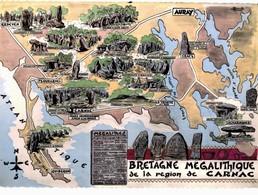 LOT N°1205 - LOT DE + 100 CARTES DE CARNAC - LES MENHIRS ET LES DOLMENS - BRETAGNE MEGALITHIQUE - Carnac