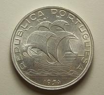 Portugal 10 Escudos 1954 Silver - Portugal