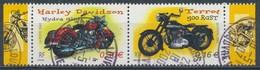 France - Collection Jeunesse 2002 - Motos YT 3514 + 3509 Se-tenant Obl - France