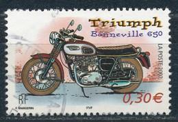 France - Collection Jeunesse 2002 - Trimph Bonneville 650 YT 3515 Obl - France