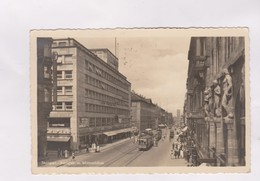 CPA STUTTGART, KONIGSTR. M MITTNACHTBAU En 1938! - Stuttgart