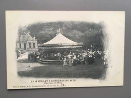 SURGERES - 14 Juillet - Carrousel - Karussell - Carousel - Kermis - Fair - Foire - Draaimolen - Chevaux De Bois - Rochefort