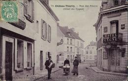 02 CHATEAU THIERRY / Rue Des Filoirs Hôtel Du Cygne / - Chateau Thierry