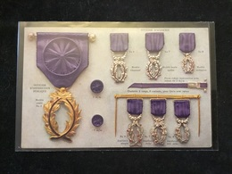 Carte Différente Médaille - Autres