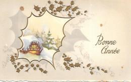 MIGNONNETTE BONNE ANNEE FORMAT 7X11 CM MD 466 - Nouvel An