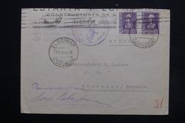 ESPAGNE - Enveloppe Commerciale De Elgoibar Pour La Suisse En  1939 , Griffe Patriotique Franco - L 24901 - 1931-50 Briefe U. Dokumente