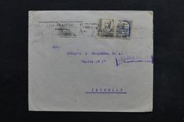 ESPAGNE - Enveloppe Commerciale De Séville Pour Le Service Intérieur En 1937 - L 24902 - 1931-50 Briefe U. Dokumente