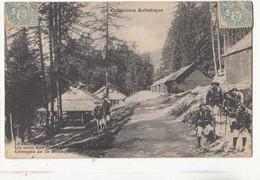 CPA 06 - Forêt De  Tournairet - Un Coin Des Baraques - Granges De La Brasque  : Achat Immédiat - Manoeuvres