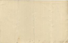 Blankenberge :  Grand Hotel De L'ocean :  Menu 1910  ( See Scan For Detail ) 2 Scans - Menus