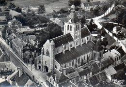 Bois-Commun. L'Eglise. Vue Aérienne. - France