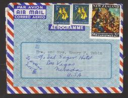 8657- New Zealand,  Cover To USA - Covers & Documents