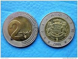 Coin From Georgia, 2 Lari 2006 Year - Georgië