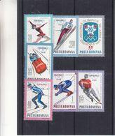 Jeux Olympiques 1968 - Roumanie - Yvert 2329 / 35 ** - MNH - Ski - Ski De Fond-luge-hockey-patinage-saut- Valeur 6,50 € - Summer 1968: Mexico City