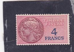 T.F.S.U N°136 Neuf - Fiscaux