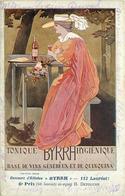 PUBLICITE BYRRH - 6em Prix, H Detouche (carte Vendue En L'état). - Pubblicitari
