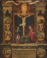 @@@ MAGNET - South German School, 17th Century, Typus Oboedientiae - Publicitaires