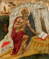 @@@ MAGNET - Veneto-Adriatic Master, Circa 1450, Saint Jerome - Publicitaires