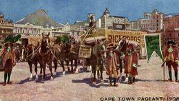 PUBLI PUBLICITE CAPE 1908  TOWN PAGEANT PICKFORDS CAPE TOWN COLONIAL    AFRIQUE DU SUD  SOUTH AFRICA - Sudáfrica