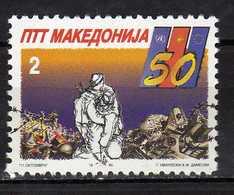 Macedonia 1995 The 50th Anniversary Of The Liberation. MNH - Macedonia