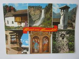 Rund Um Langenfeld. Alte Kapelle Zwischen Aschbach Und Huben. Wasserfall Bei Oberried. Denkmal. Ortskirche. Brucke - Langenfeld
