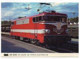 EDITIONS BIBLIO RAIL    TRAIN  BB 9292    SUR LE PREMIER CAPITOLE - Trains