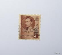 GRENADA 1937. 1/4d. King George VI. SG152a. Used. - Grenade (...-1974)
