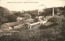COMBS LA VILLE - Verrerie De Vaux-la-Reine. - Sonstige Gemeinden