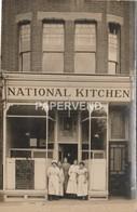 WW1 HOME FRONT National Kitchen Unknown Location  RP  1w244 - War 1914-18