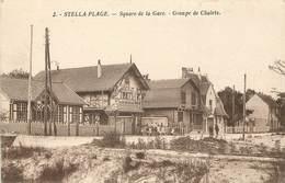 STELLA-PLAGE - Square De La Gare, Groupe De Chalets. - Sonstige Gemeinden
