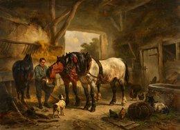 @@@ MAGNET - Wouter Verschuur, A Horse And A Stableboy - Publicitaires