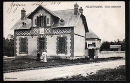 45, Villevoques, Ecole Communale - Autres Communes