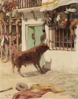 @@@ MAGNET - Zo, Bullfight Scene - Publicitaires