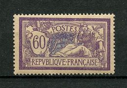 FRANCE 1907  N° 144 ** Neuf  MNH  Superbe  Type Merson - France
