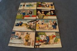 RARE,8 Superbes Anciennes Cartes G.Artaud,Nantes, Bel état De Collection - Autres Illustrateurs