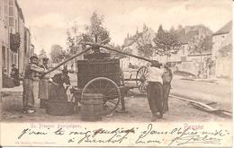 BEAUNE (21) Un Pressoir Bourguignon En 1904 (Plan Le Moins Courant) - Beaune