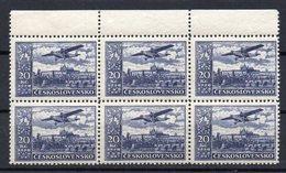CZECHOSLOVAKIA 1930 , MNH  , AIR , PERFORATION  12 1/4 - Czechoslovakia