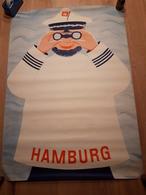 OUDE AFFICHE 1950-1965, HAMBURG, 83x59cm - Affiches