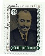 1972 - Guinea Repubblica 486 Georgi Dimitrov - Guinea (1958-...)