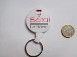 Beau Porte Clés , Tabac Seita Le Havre , Convertisseur Franc - Euro - Porte-clefs