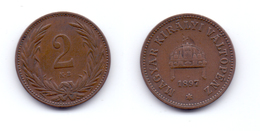 Hungray 2 Filler 1897 - Hongrie