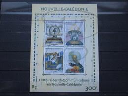 VEND BEAU BLOC FEUILLET DE NOUVELLE-CALEDONIE N° 38 , XX !!! - Blocks & Kleinbögen