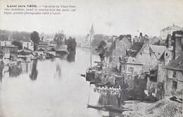 53 - LAVAL Vers 1860 - Vue Prise Du Vieux- Pont Vers Avénières - - Laval