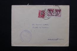 ESPAGNE - Enveloppe De Bilbao Pour La Belgique En 1936 , Affranchissement Plaisant- L 24923 - 1931-50 Briefe U. Dokumente