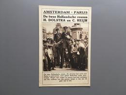 AMSTERDAM - PARIJS - Reuzen - Dolstra En Heijm - Den Haag - Sigarettenfabriek Batschari - Géants - Giants - Riesen - Nederland