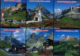 PIA - Cartolina Illustrata Con Immagini Delle Dolomiti - Italia