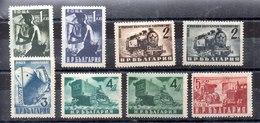 Serie De Bulgaria Nº Yvert 630/37 */** - 1945-59 People's Republic