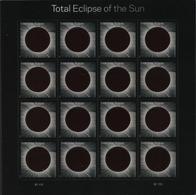 Etats-Unis USA 5027 Eclipse Solaire Totale - Astronomy