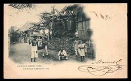 ILES PHILIPPINES , Philippins Portant Un Cochon - Philippines