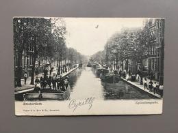 AMSTERDAM - Egelantiersgracht - 1905 - Amsterdam